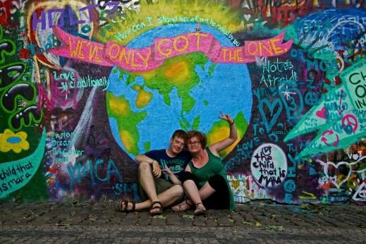 Il muro di John Lennon - Praga