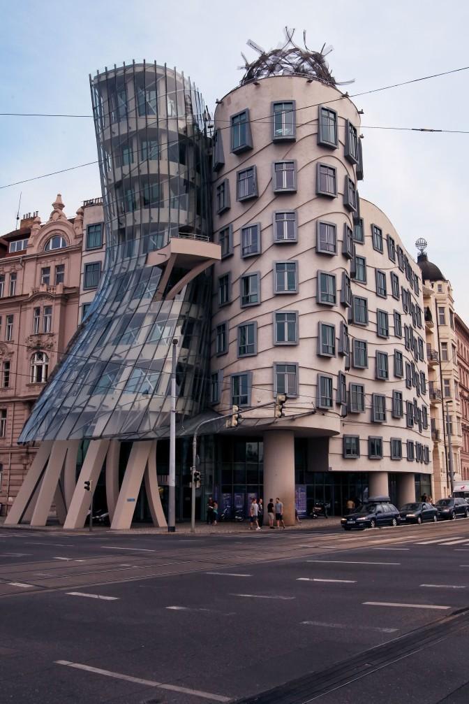 La casa danzante - Praga