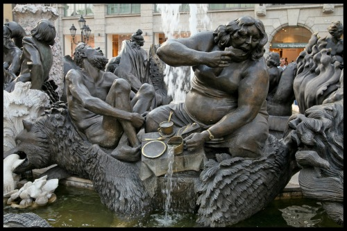 Fontana del matrimonio! - Norimberga