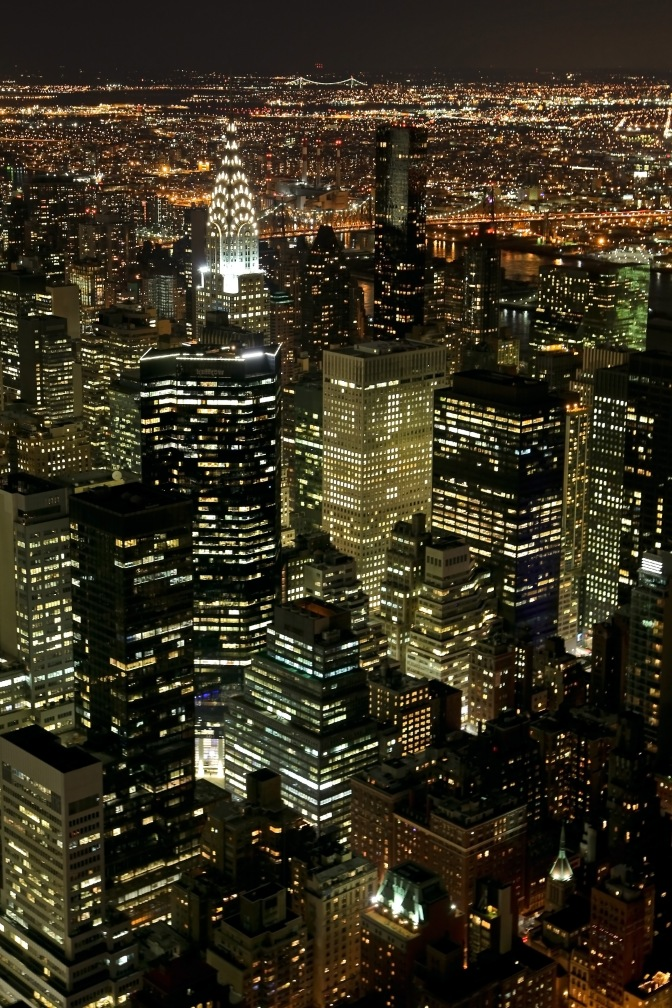 dall'Empire State Building