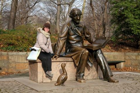 Hans Christian Andersen autore del Brutto Anatroccolo