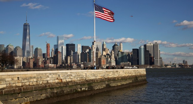 Skyline Downtown Manhattan