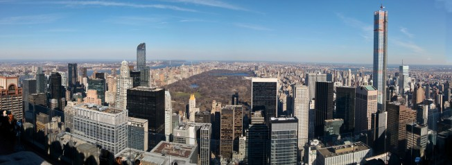 Central Park dal Top of the Rock